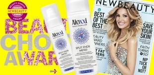 Журнал New Beauty назвал сыворотку Aloxxi Split Ends Mend самым эффективным средством против секущихся кончиков