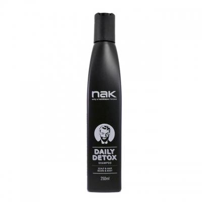 Мужской детокс-шампунь NAK Daily Detox, 250 мл