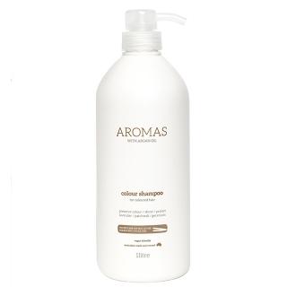 Увлажняющий шампунь для окрашенных волос Aromas Colour Shampoo, 1000 мл