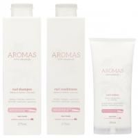 Комплект для вьющихся волос Aromas Curl №2 (шампунь, кондиционер и крем)