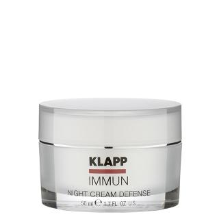 Ночной крем Klapp IMMUN Night Cream Defense, 50 мл