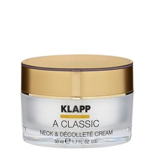 Интенсивный питательный крем для шеи и декольте Klapp Vitamin A Neck & Decollete Cream, 50 мл