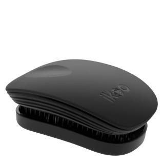 Компактная расческа ikoo pocket classic black «Классический черный»