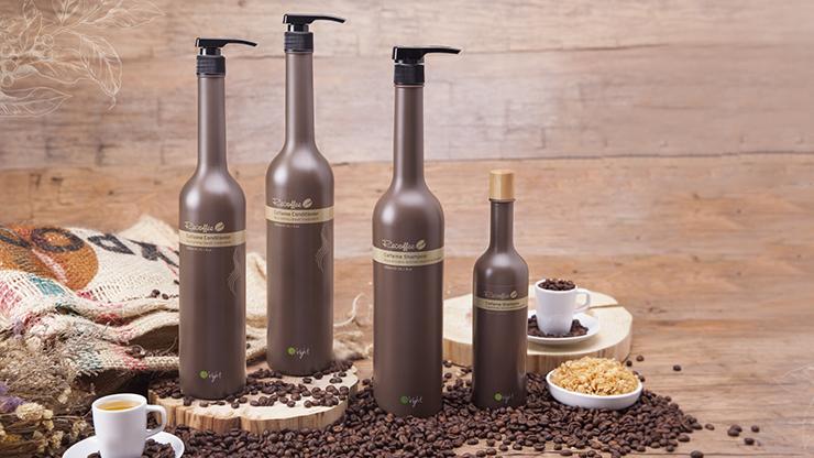 Шампунь с кофеином для роста волос