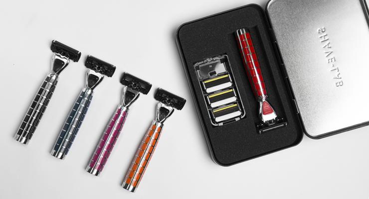 Разные цвета бритв Shave-Lab