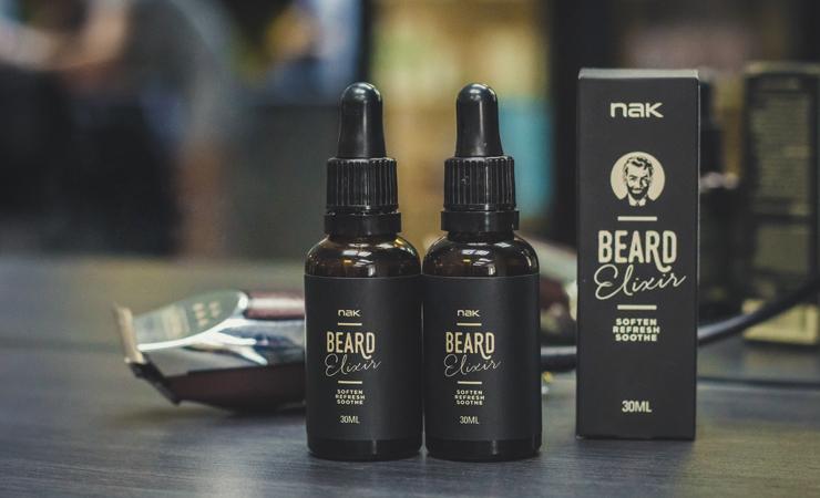 Масло для бороды NAK Beard Elixir