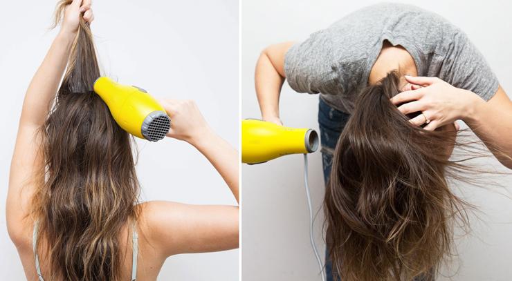 Как сделать объем волосам с помощью мусса