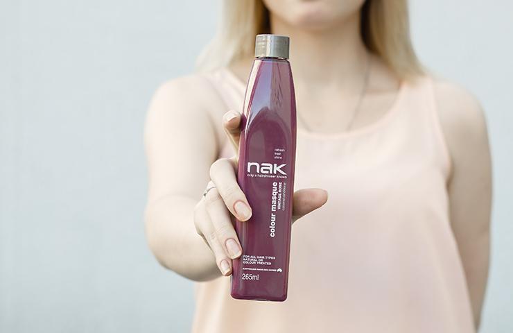 Оттеночный кондиционер NAK «Винтажная роза»