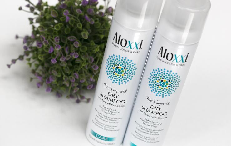 Сухой шампунь Aloxxi