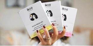 Новинка от ikoo: влажные салфетки для волос