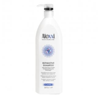 Шампунь «Радикальное восстановление волос» Aloxxi Reparative Shampoo, 1000 мл