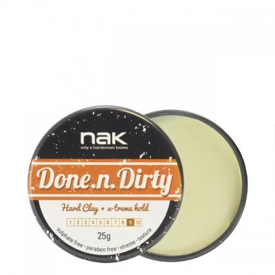 Матовая глина сильной фиксации NAK Done-n-Dirty, 25 г