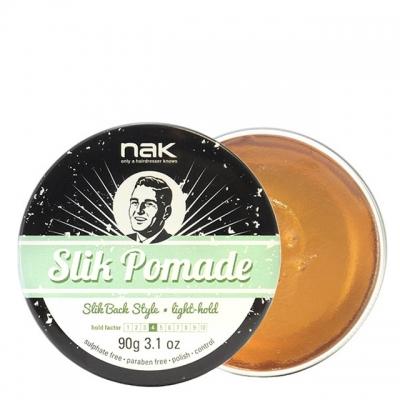 Классическая помада легкой фиксации NAK Slik Pomade, 90 г