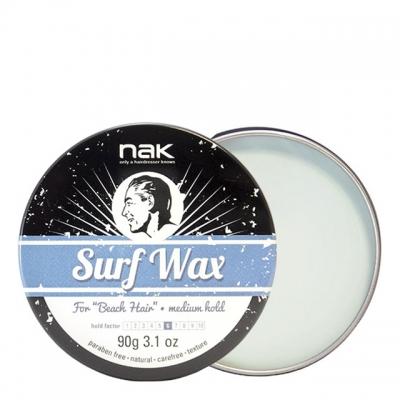 Матовый воск средней фиксации NAK Surf Wax, 90 г
