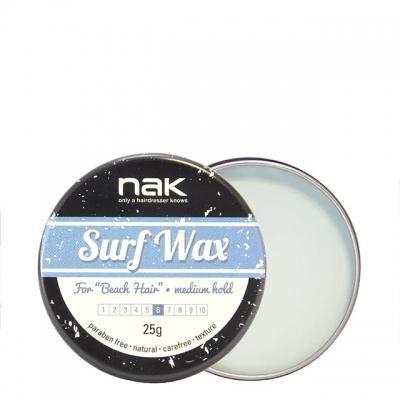 Матовый воск средней фиксации NAK Surf Wax, 25 г