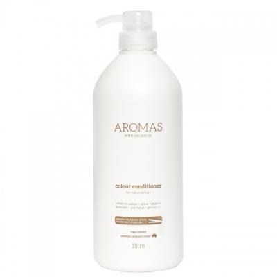 Кондиционер для увлажнения окрашенных волос — с аргановым маслом Aromas Colour, 1000 мл
