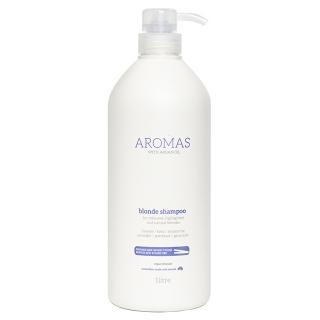Шампунь для блондинок Aromas Blonde Shampoo — против желтизны и медных оттенков, 1000 мл