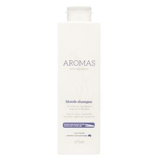 Шампунь для блондинок Aromas Blonde Shampoo — против желтизны и медных оттенков, 275 мл