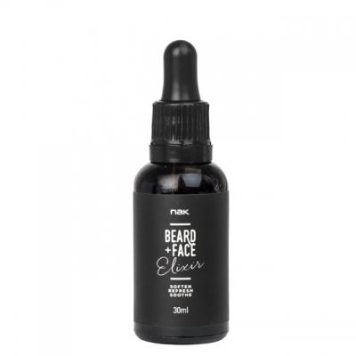 Масло для бороды NAK Beard Elixir, 30 мл