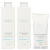 Комплект Aromas «Разглаживание»: шампунь, кондиционер и крем