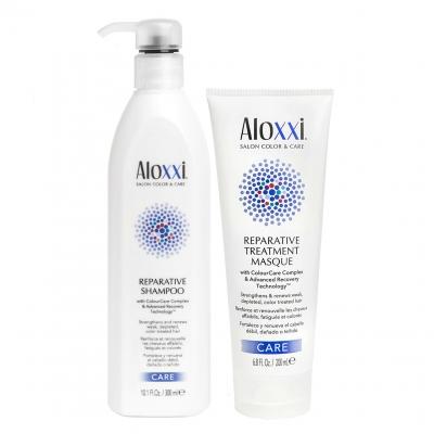 Комплект Aloxxi Duo «Восстановление»: шампунь и маска