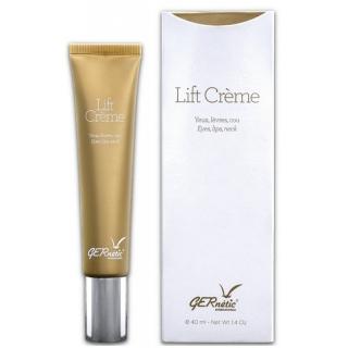 Лифтинговый крем для ухода за кожей вокруг глаз, контуром губ и шеей Gernetic Lift Creme, 40 мл