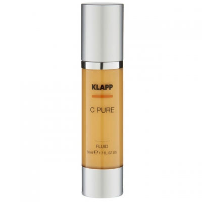 Витаминный крем-флюид для жирной кожи Klapp C Pure Fluide, 50 мл