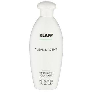 Очищающий тоник для жирной и склонной к акне кожи Klapp CA Exfoliator, 250 мл