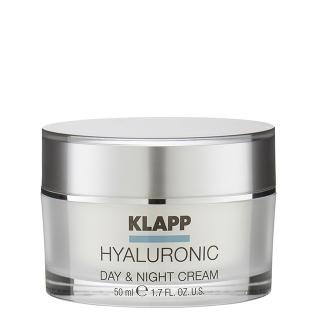 Крем широкого спектра действия Klapp Hyaluronic Day & Night Cream, 50 мл