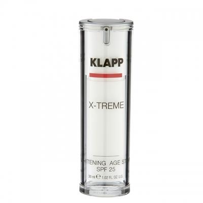 Отбеливающий крем Klapp X-treme Whitening Age Stop SPF 25, 30 мл
