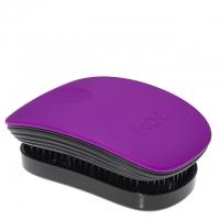 Компактная расческа-детанглер ikoo pocket paradise black «Сахарная слива»