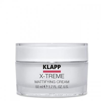 Крем матирующий Klapp X-treme Mattifying Cream, 50мл