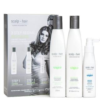 Набор против выпадения Scalp to Hair для тонких окрашенных волос