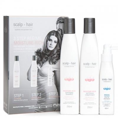 Набор против выпадения Scalp to Hair Trio для окрашенных волос