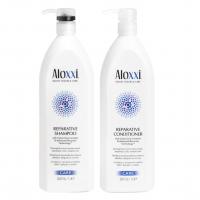Комплект Aloxxi «Радикальное восстановление XXL»: шампунь и кондиционер, 1000 мл