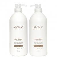 Комплект Aromas «Увлажнение весь день XXL»: шампунь и кондиционер, 1000 мл