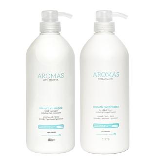Комплект Aromas «Разглаживание XXL»: шампунь и кондиционер, 1000 мл