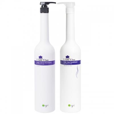 Комплект для увлажнения O'right XXL Duo «Пурпурная роза»: шампунь и кондиционер, 1000 мл