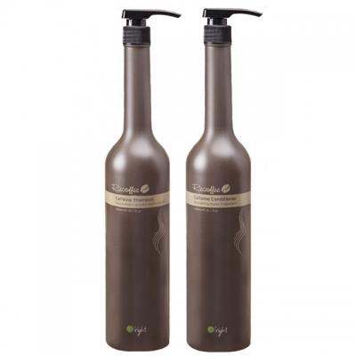 Комплект для укрепления волос O'right XXL Duo «Кофеин»: шампунь и кондиционер, 1000 мл