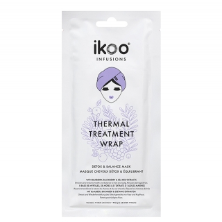Маска-обертывание для волос ikoo infusions Thermal Treatment Wrap Detox & Balance Mask «Детокс и баланс», 35 г