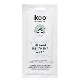 Маска-обертывание для волос «Увлажнение и блеск» ikoo infusions Thermal Treatment Wrap Hydrate & Shine Mask, 35 г