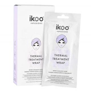 Набор из 5 масок-обертываний для волос ikoo infusions Thermal Treatment Wrap Detox & Balance Mask «Детокс и баланс»
