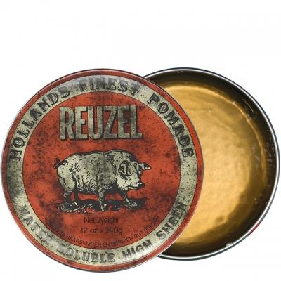 Красная помада Reuzel средней фиксации, 340 г