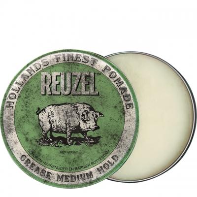 Зеленая помада Reuzel средней фиксации, 340 г