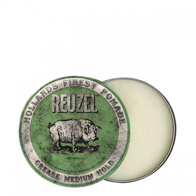 Зеленая помада Reuzel средней фиксации, 35 г
