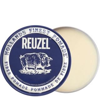 Синяя волокнистая помада для укладки сильной фиксации Reuzel Fiber Pomade, 340 г