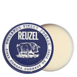 Синяя волокнистая помада для укладки сильной фиксации Reuzel Fiber Pomade, 113 г