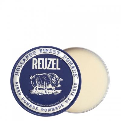 Синяя волокнистая помада Reuzel сильной фиксации, 35 г