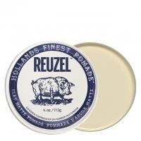 Белая матовая глина-помада Reuzel сильной фиксации, 113 г