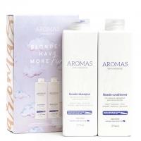 Набор Aromas «Премиальный блонд»: шампунь и кондиционер